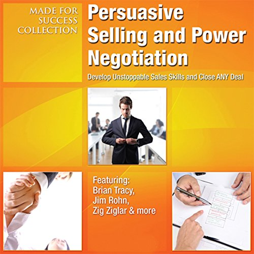 Persuasive Selling and Power Negotiation audiobook cover art