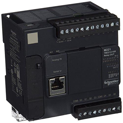 Schneider Electric TM221C16R Controlador M221 16 E/S Relé