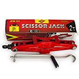 Pandamoto Car Van Mechanical Scissor Jack Lifting-2 Ton Capacity