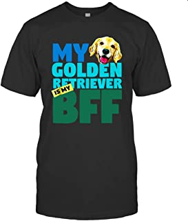 Playera My Golden Retriever is My Best Friend Forever