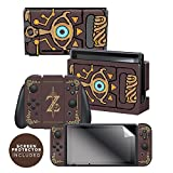 Controller Gear Nintendo Switch Skin & Screen Protector Set Officially Licensed By Nintendo - The Legend of...