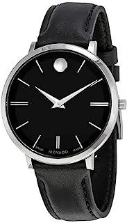 Movado - Ultra Delgados Sunray Dial señoras Reloj 0607090 Negro