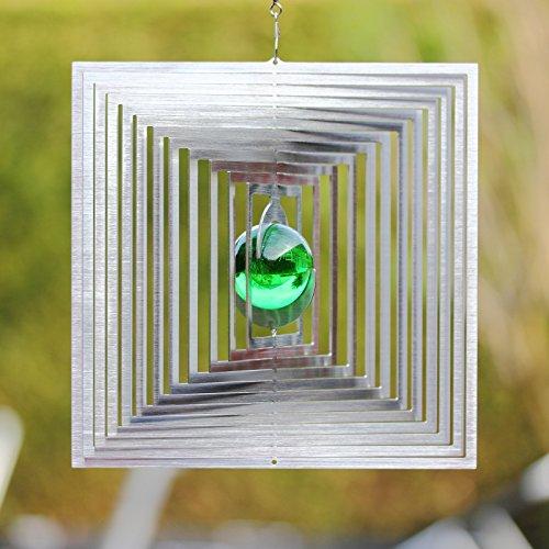 Carillon carré magique avec 35 mm de boule de verre absolument Résiste aux intempéries