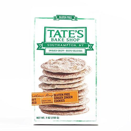 Tate's Gluten-Free Ginger Zingers 7 oz each (1 Item Per Order, not per case)