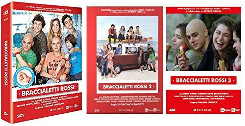 braccialetti rossi Braccialetti Rossi - Stagione 1-2-3 (9 Dvd + Gadget Braccialeti) Edizione Italiana