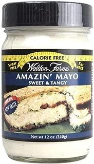 Walden Farms Amazin' Mayo - Sugar Free, Calorie Free, Fat Free, Carb Free, Gluten Free - 1 Bottle