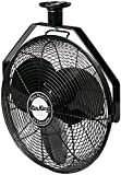 Air King 9718 18-Inch Industrial Grade Ceiling Mount Fan,Black
