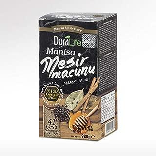 Manisa Mesir Paste Natural Herbal Ottoman Health Aphrodisiac Paste Mesir Macunu 380 Gr.