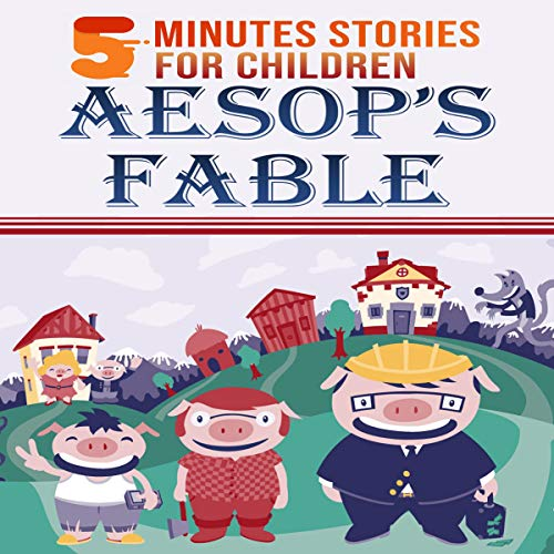 5 Minutes Stories Aesop's Fables cover art