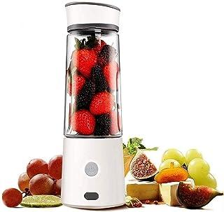 GJHK Mixeur personnel portable - Presse-agrumes électrique rechargeable par USB - Extracteur de fruits facile à nettoyer -...