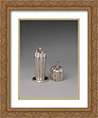 Artist: George Manjoy Title: Miniature knifebox with cover High Quality Art Print and Framed in a Gold Ornate Wood Frame with Double Matting by Crescent In Stock and Framed When Purchased Made in the U.S.A. and Satisfaction is Guaranteed