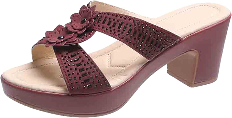 NLLSHGJ Platform Sandals For Women Fashion Women's Casual Shoes