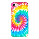 Obbii Case for iPhone 8/7/6/6S/SE 2nd Generation Unique Tie Dye Design Matte Slim TPU Flexible Soft Silicone Protective Durable Cover Case Compatible with iPhone 7/8/6/6S/SE 2020(4.7')