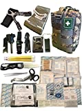 VICTONY Fortis EDC Emergency First Aid Survival Kit Molle Bag Tactical IFAK for Car Travel Camping...