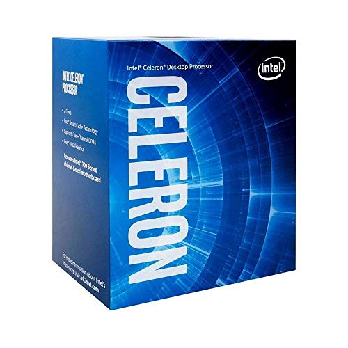 Procesador Intel Celeron G-5900 para Equipos de sobremesa 2 núcleos 3,4 GHz LGA1200 (chipset Intel Serie 400) 58W, número de Modelo: BX80701G5900