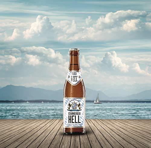 STARNBERGER HELL 0,33L Flasche - bayerische Bierspezialität (8er Karton)