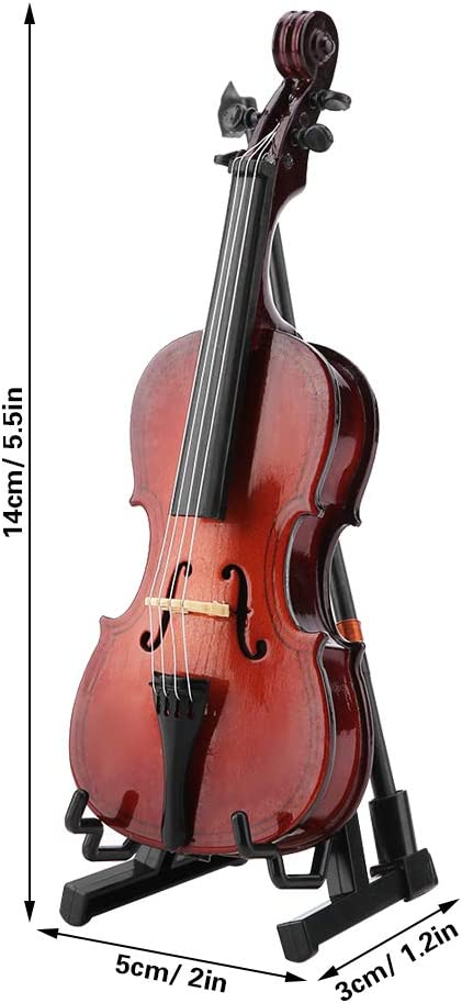 Gaeirt Instrument Ornament Fashionable Large special price Craft Cello Mini Miniature