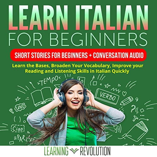 Learn Italian for Beginners (Italian Edition) cover art