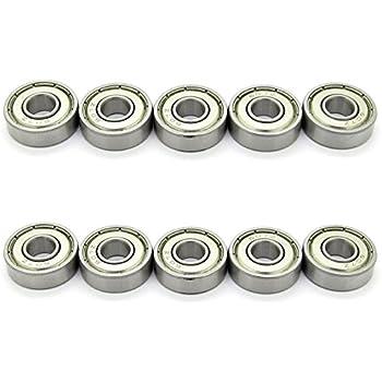 S607ZZ QTY 10 7x19x6 mm 440c Stainless Steel Ball Bearing Bearings 607ZZ