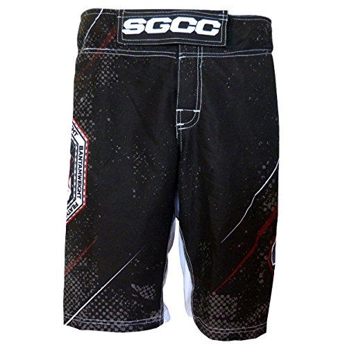 Pantaloncini MMA Staredown Nero, Nero