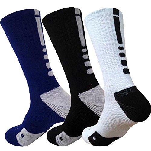 Compression Socks for Women & Men-for Medical, Nursing, Running & Fitness, Edema, Diabetic, Varicose Veins, Travel & Flight, Pregnancy, Nurse (4pack, Black-red)