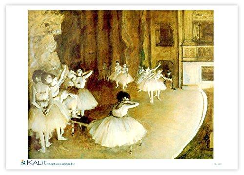 Accademia del Decoupage 32 x 45 cm carta di riso, Ballerini classici