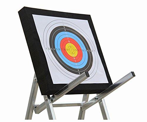 Esponja de espuma EVA 3D Sportsmann Arrow Target de 50 x 50 x 5 cm con 2 dianas de papel para reciclar bow entrenamiento juegos de práctica