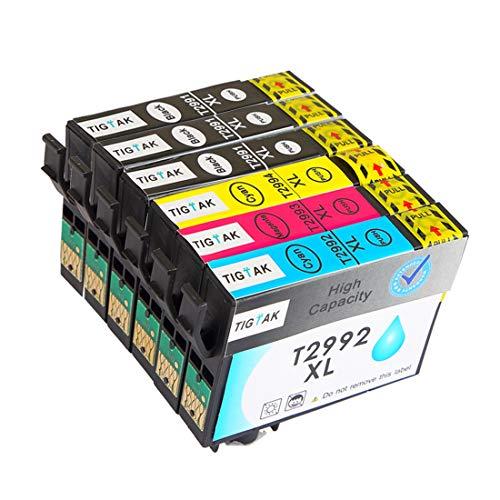 Druckerpatronen 29XL Ersatz für Epson 29 Patronen Kompatibel mit Epson Expression Home XP 455 XP 332 XP 345 XP 445 XP 245 XP 345 XP 235 XP 435 XP 352 XP 255 XP 257 XP 330 XP 352 XP 355 XP 452 Patronen