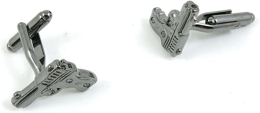 Cufflinks Cuff Links Classic Fashion Jewelry Party Gift Wedding 465937 Gun Pistol Shape