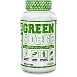 Green Surge Green Superfood Capsules - Keto Friendly Greens Supplement w/Spirulina, Wheat & Barley Grass - Immune Support, Probiotics & Digestive Enzymes - 120 Veggie Pills…