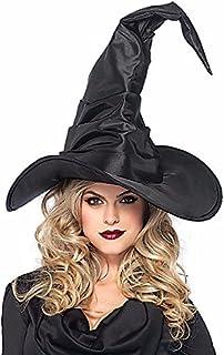 ハロウィン コスプレ LEG AVENUE(レッグアベニュー) 帽子:ハットLA-A2741【ウィッチ:魔女】 BLACK