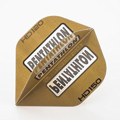 5 x SETS PENTATHLON HD150 GOLD DART FLIGHTS