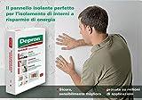 Pannelli in polistirolo estruso Depron 9mm per isolamenti umidita' e termici interni a risparmio energetico.