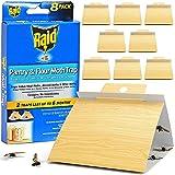 Raid Pantry & Flour Moth Trap, Set of 8 Pantry Moth Traps, Cabinet & Cupboard Moth Traps, Safe &...
