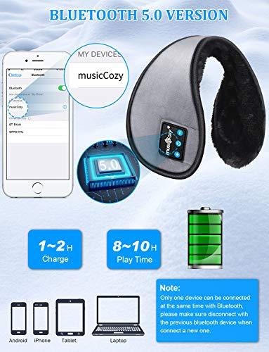 イヤーマフ防寒Bluetooth耳あて冬用イヤーウォーマーメンズレディースステレオ再生通勤通学アウトドアお出かけスポーツに対応