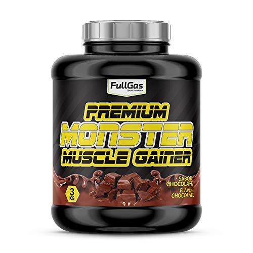 FullGas - MONSTER Premium Gainer Chocolate 3kg