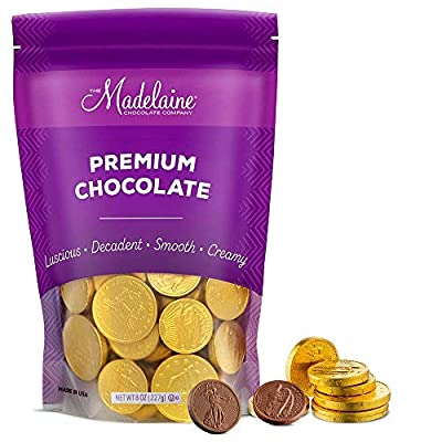 chocolate coins for kids