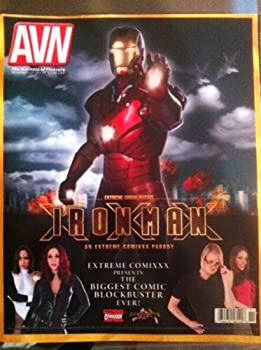 Adult Video News  AVN  - Lots of Full Color Ads Suitable for Framing and Stars - Ironman XXX Parody Cover - Oversized  November 2011