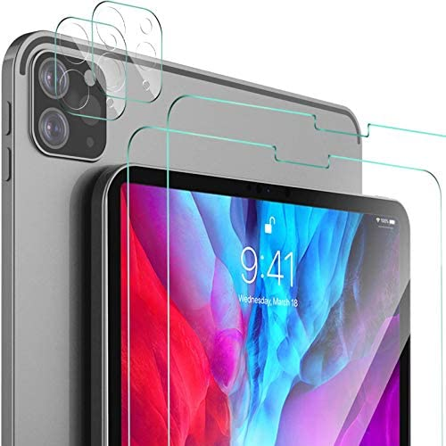 IVSO 2 2 Pack Screen Protector for iPad Pro 12 9 2020 2018 9H Hardness HD Clear Tempered Glass product image
