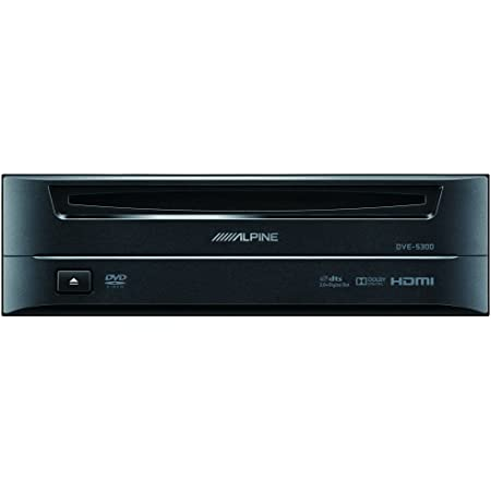 Alpine Electronics DVE-5300 Restyle Add-On DVD/CD Player for Mech-Less X108U Dash System