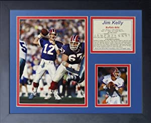 """Legends Never Die """"Jim Kelly Framed Photo Collage, 11 x 14-Inch"""
