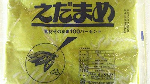 井上天極堂 枝豆ペースト 100% 1kg えだ豆 えだまめ 業務用 冷凍