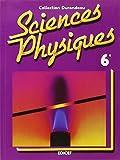 Sciences physiques - 6e. Elève