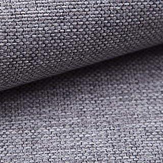 NOVELY MUDAU | Polsterstoff | Meterware | Möbelstoff | Webstoff | Struktur-Stoff | Mélange | Grober Handwebcharakter | 26 Farben 08 Grau