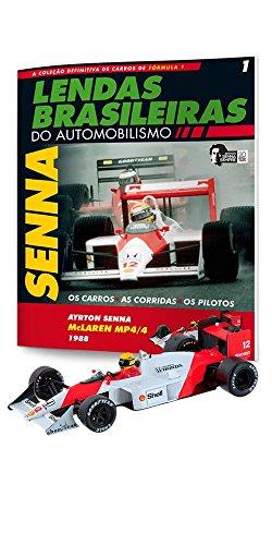 McLaren Honda Mp4/4. Ayrton Senna - Lendas Brasileiras do Automonilismo. 1