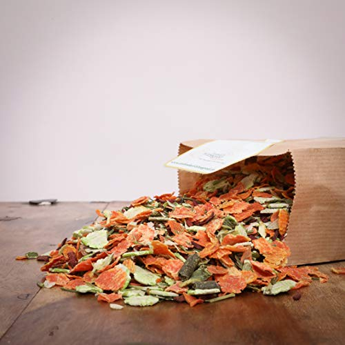 Hitzegrad Barf Premium-Gemüse Mix als Menü-Zusatz für Hunde - 1000g