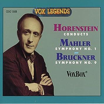 """Mahler: Symphony No. 1 """"Titan"""" - Bruckner: Symphony No. 9"""