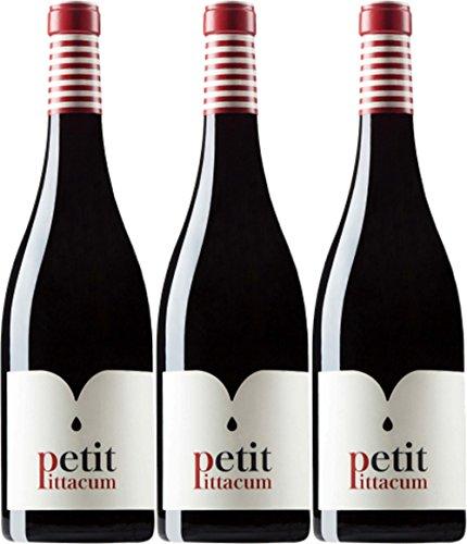 Petit Pittacum Vino Tinto Petit Pittacum Do Bierzo - 3 Paquetes de 750 ml - Total: 2250 ml