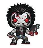 Funko Pop! Heroes: DC Heroes Lobo (Bloody Version) Vinyl Figure,Multicolor,3.75 inches