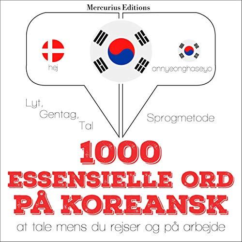1000 essentielle ord på koreansk cover art